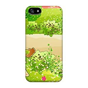 New Arrival Case Cover With QasDC60434YxOcE Design For Iphone 5/5s- Little Girls Spring