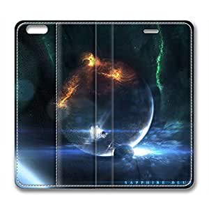 Galaxy Personalized Design Leather Case for Iphone 6 Outburst