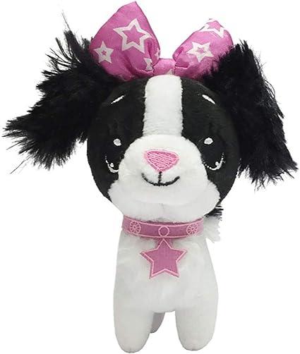 3 inch mini unicorn treat holding dog toy-new-blue