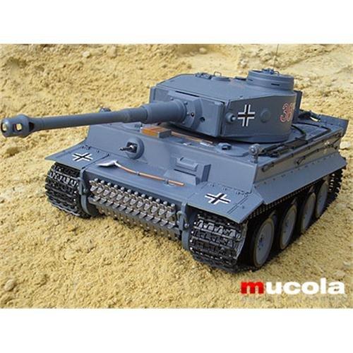 Melko® RC Panzer German Tiger 1:16 Kampfpanzer Heng Long 3818 Schuss Ferngesteuert