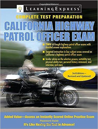 California Highway Patrol Officer Exam (California Highway