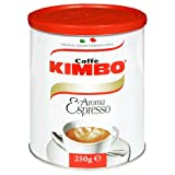 Gourmet Food : Lettieri Kimbo Espresso Ground Coffee, 8.5-Ounce Cans (Pack of 3)