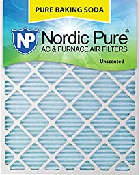 Nordic Pure 12x30x1PBS-3 Pure Baking Soda Air Filters (Quantity 3), 12\