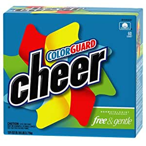 Amazon.com: Cheer Free & Gentle Powder Detergent