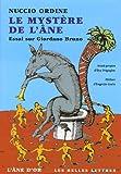 Le Mystère de l'âne (nouvelle édition): Essai sur Giordano Bruno