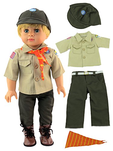 - Boy Scout Outfit for 18 Inch Dolls | Fits 18