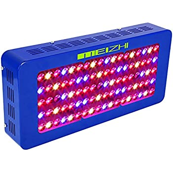 MEIZHI Reflector Series 450W LED Grow Light Full Spectrum for Indoor Plants Veg and Flower Dual Growth and Bloom Switches