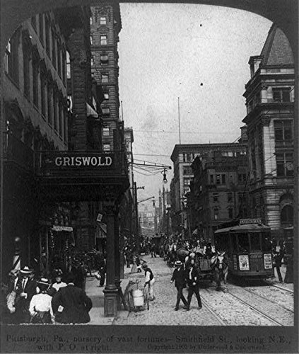 Photo: Pittsburgh,Pennsylvania,PA,Smithfield Street,Post Office,Griswold,c1903,City (Pittsburgh Photo)