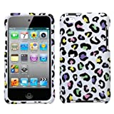 Hard Case for Apple Ipod Touch 4g Phone Protector Cover - Colorful Leopard