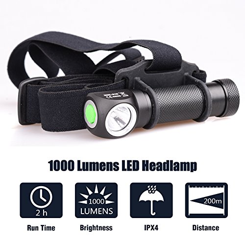 Xm Cree U2 Led 1000 Rechargeable Micotools Lumens Lampe L2 Camping E29HbeIDYW