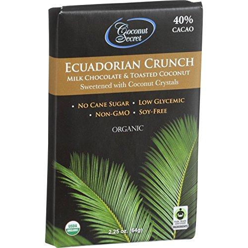 Coconut Secret Candy Ecuadorian Crunch, 2.25 oz