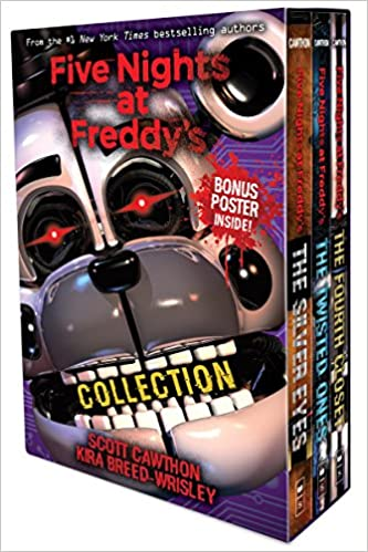 amazon com five nights at freddy s collection 9781338323023