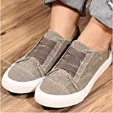 Women Adults Canvas Fashion Sneakers Low Top Lace