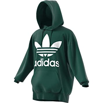 cb8437f505af3 Adidas Trefoil Oversize Pull à Capuche  Amazon.fr  Vêtements et ...