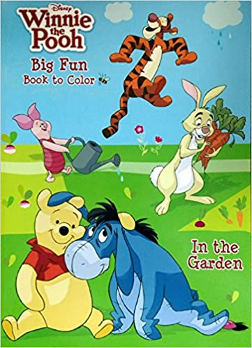 Disney/® Winnie the Pooh Big Fun Book to Color Set of 2 Dalmatian Press