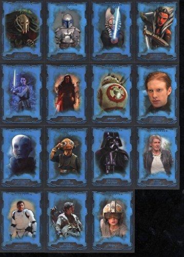 Star Wars 2016 Masterworks Blue Parallel Card #30 General Grievous ()