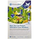 Window Alert Butterfly Decals