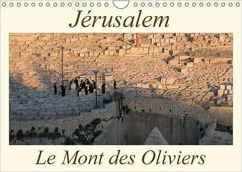 Jerusalem le Mont des Oliviers 2017: Une Promenade Exhaltante Dans le Cimetiere Juif du Mont des Oliviers (Calvendo Places)