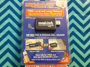 MagicJack Plus + Free 6 Months Subscription to Magic Jack Service