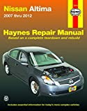 Nissan Altima Auto Repair Manual Books - Nissan Altima (07-12) Haynes Repair Manual (Does not include information specific to hybrid models. Includes thorough vehicle coverage apart from the specific exclusion noted)