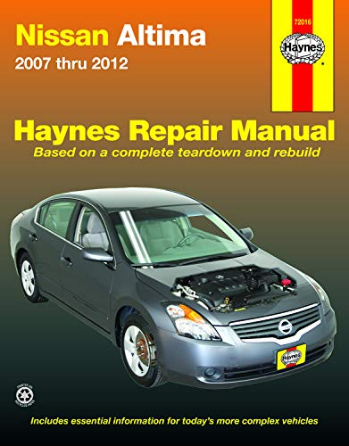 (Nissan Altima 2007 - 2012 Repair Manual (Haynes Repair Manual) )