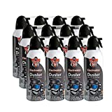 Dust-Off 10 oz Compressed Gas Duster Retail Case Pack (DPSXLRCP)