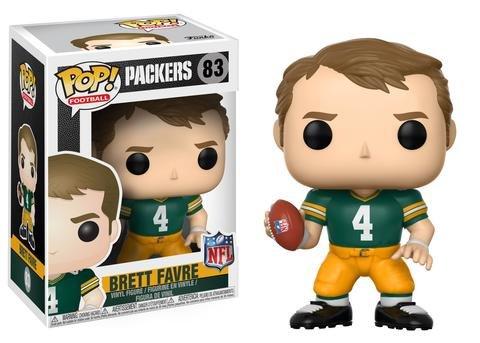 Funko POP NFL: Brett Favre (Green Bay Home) Collectible ()