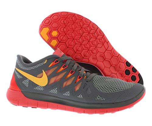 Womens Nike Gratis 5.0 Loopschoenen. 5.5. Koele Grey.atomic Mango-laser Karmozijn-wolf