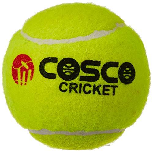 (Cosco Light Weight Cricket Ball, Pack of 6 (Yellow))