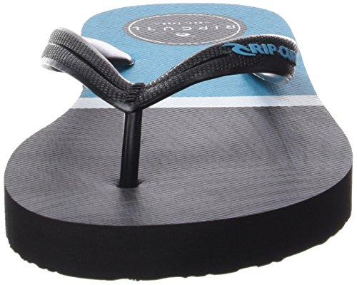 Blue Rip Tongs Curl Split Black Noir PHw8qO