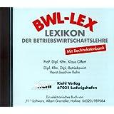 Lexikon der Betriebswirtschaftslehre auf CD-ROM: Mit Rechtsdatenbank