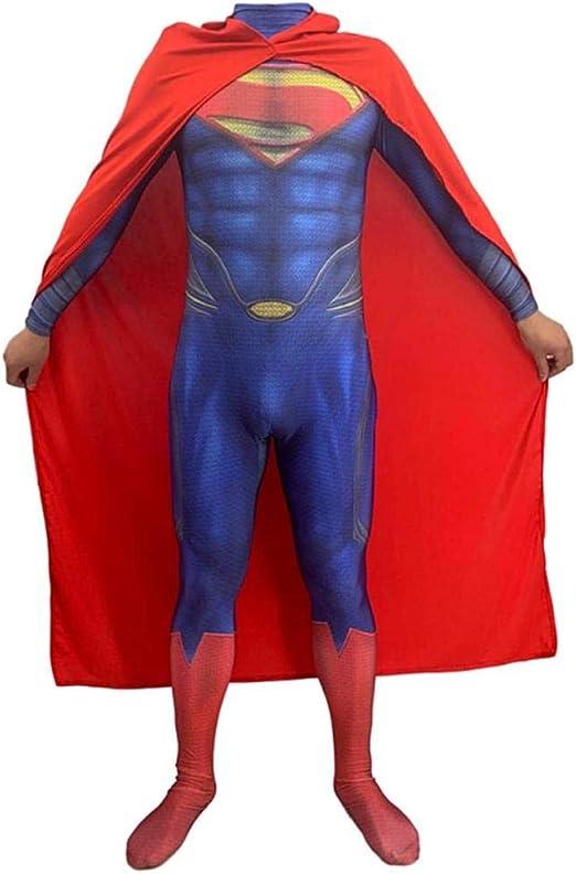 WEDSGTV Hero Superman Disfraz Disfraz Body Spandex Monos Película ...