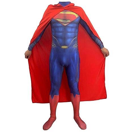 gikmhyb Hero Superman Disfraz Fancy Dress Movie Game ...