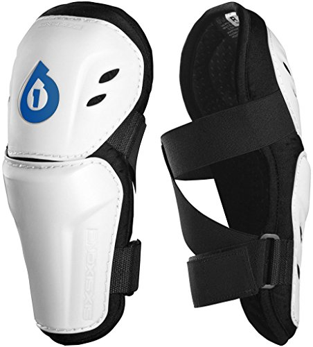 SixSixOne 661 Comp Motorcycle BMX Elbow Guard Protective Pad White - Small ()
