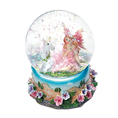 Accent Plus 10018441 Garden Fairy Mini Snow Globe, Multicolor ()