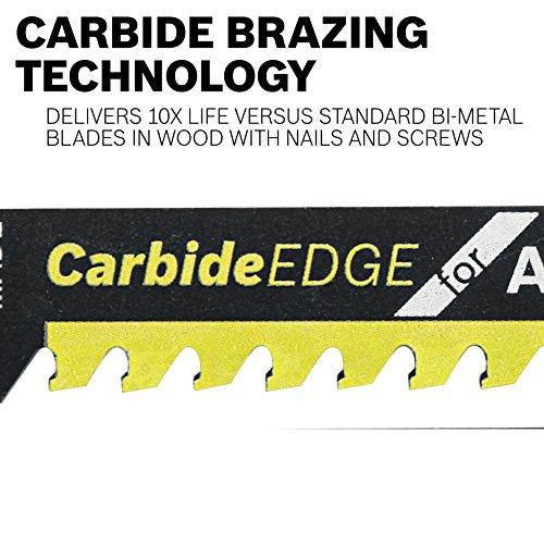 Bosch T367XHM1 5-7 Carbide Edge Saw for Purpose ,