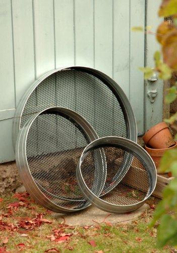 Galvanised Steel Garden Riddle - Various Sizes (Medium) Black Country Metal Works MC1046