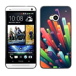 GagaDesign / Funda Carcasa protectora - 3D Abstract Art Plastic - HTC One M7