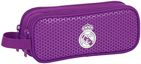 Real Madrid - Estuche portatodo Doble, 2ª equipacion Temporada 2016/2017 (SAFTA 811677513): Amazon.es: Juguetes y juegos