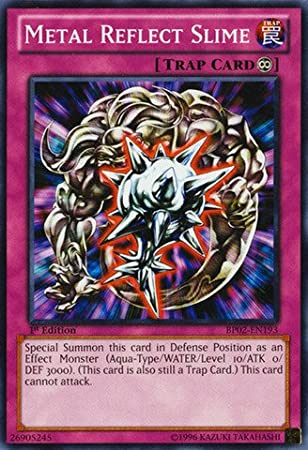 Yu-Gi-Oh! - Metal Reflect Slime (BP02-EN193) - Battle Pack 2: War of the Giants - 1st Edition - Common by Yu-Gi-Oh!: Amazon.es: Juguetes y juegos