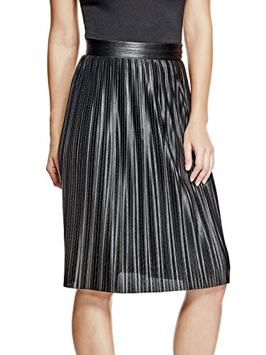 GUESS-Womens-Chloe-Pleated-Skirt