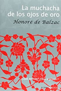 La muchacha de los ojos de oro par de Balzac