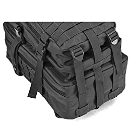 Small Military Tactical Backpack 3 Day Assault Pack Army Molle Bug Out Bag Backpacks Hunting Rucksacks 34L Black