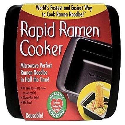 Amazon Rapid Ramen Cooker Microwave Ramen In 3 Minutes Bpa