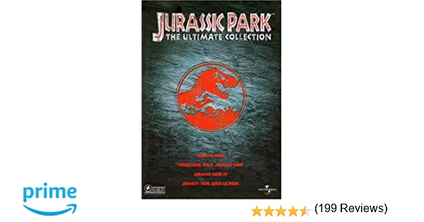 Jurassic Park - The Ultimate Collection Alemania DVD: Amazon.es: Sam Neill, Laura Dern, Jeff Goldblum, Julianne Moore, Steven Spielberg, Joe Johnston: Cine ...