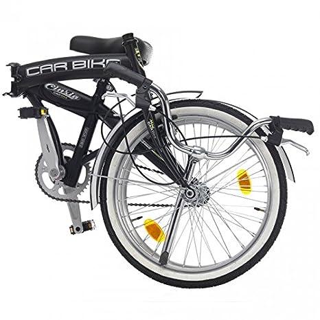 Bicicleta carbike plegable de ciclos Cinzia negro mate: Amazon.es: Deportes y aire libre