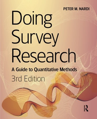 Doing Survey Research, 3rd Edition