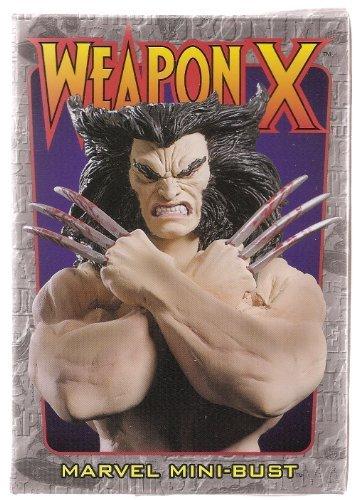 Weapon X (Wolverine) Mini Bust Bowen Designs!