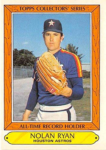Nolan Ryan Baseball Card Houston Astros Hall Of Fame 1985 Topps