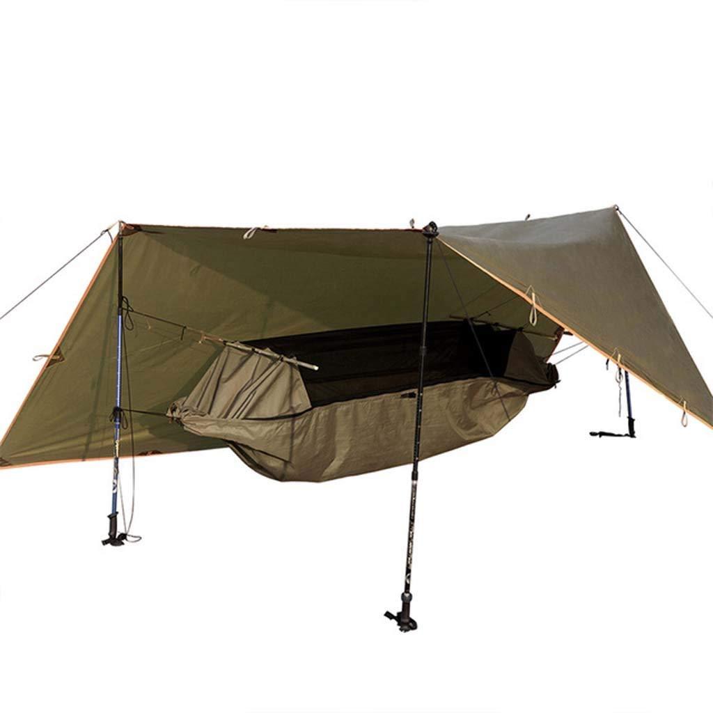 Yiwrffg Yiwrffg Yiwrffg Outdoor-Sport-Camping tragbare Hängematte verschleißfesten Zeltabdeckung Markise Multifunktions-Pad Falten PU wasserdicht B07P7GBSL5 Wurfzelte Haltbarer Service 1f945b